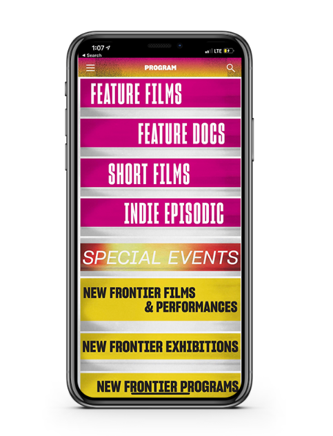 sundance film festival mobile application