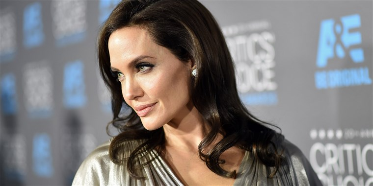 Angelina Jolie at Sundance 2020