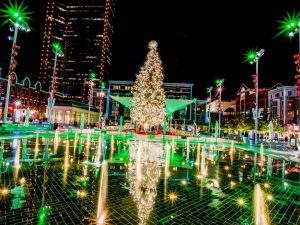 Sundance Square - 50 Feet Tall Christmas Tree