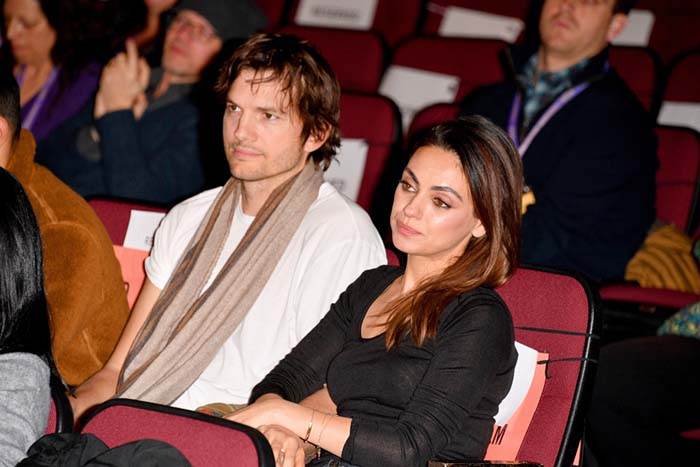Date Night for Mila Kunis and Husband Ashton Kutcher at Sundance 2020