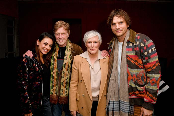 Date Night for Mila Kunis and Husband Ashton Kutcher at Sundance 2020