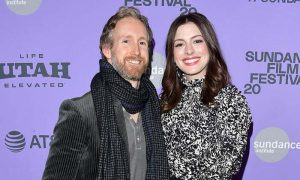 Rare Sight at Sundance: Anne Hathaway With Her Husband Adam Shulman