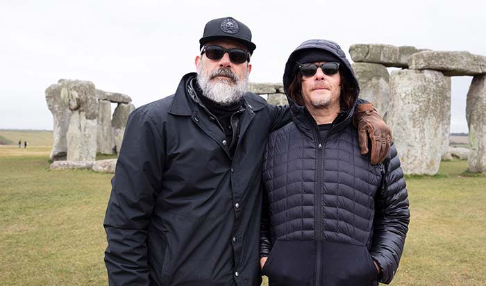 Walking Dead Stars Jeffrey Dean Morgan and Norman Reedus at the Sundance 2020