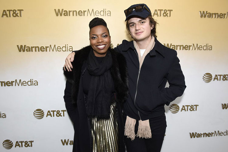 Sasheer Zamata And Joe Keery